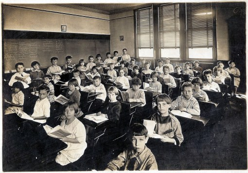 old classroom photo students: Over the years, we students of legal education have changed. Have the teachers changed?