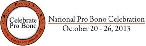 National Pro Bono Celebration Week 2013 logo