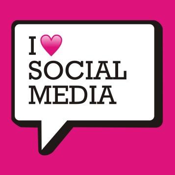 social media heart love