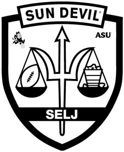ASU Sports and Entertainment Law Journal 2013 logo