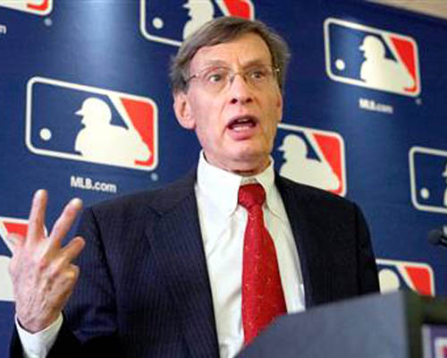 Bud Selig, Major League Baseball Commissioner