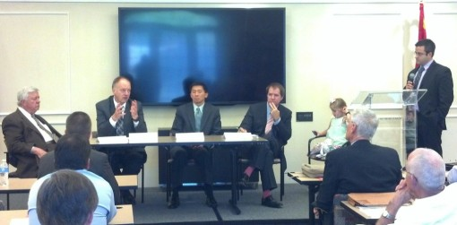 Jurists from a federal circuit court and state supreme courts spoke at the Goldwater Institute, Oct. 25, 2013.