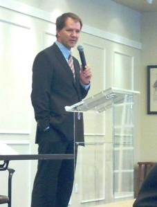 Justice Don Willett, Texas Supreme Court, speaks at the Goldwater Institute, Oct. 25, 2013.