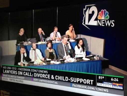 State Bar of Arizona Lawyers on Call 11-7-13