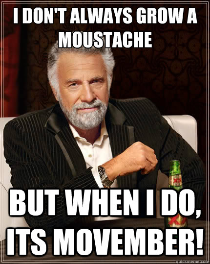 Movember interesting man