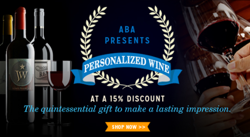 A portion of the ABA wine ad.