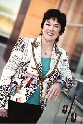 Lawyer-artist Deborah Wolfe