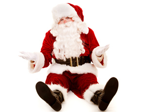 clueless Santa