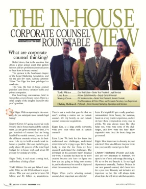 Corporate Counsel Q&A Dec 2013