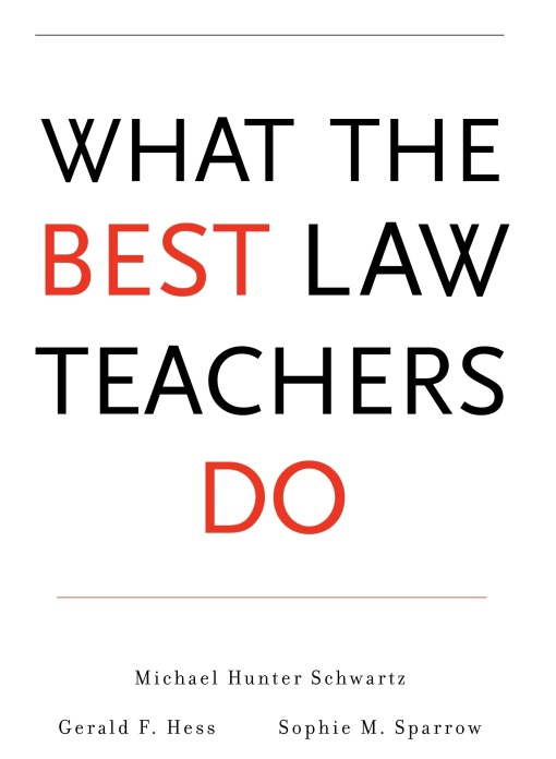 what-the-best-law-teachers-do book cover