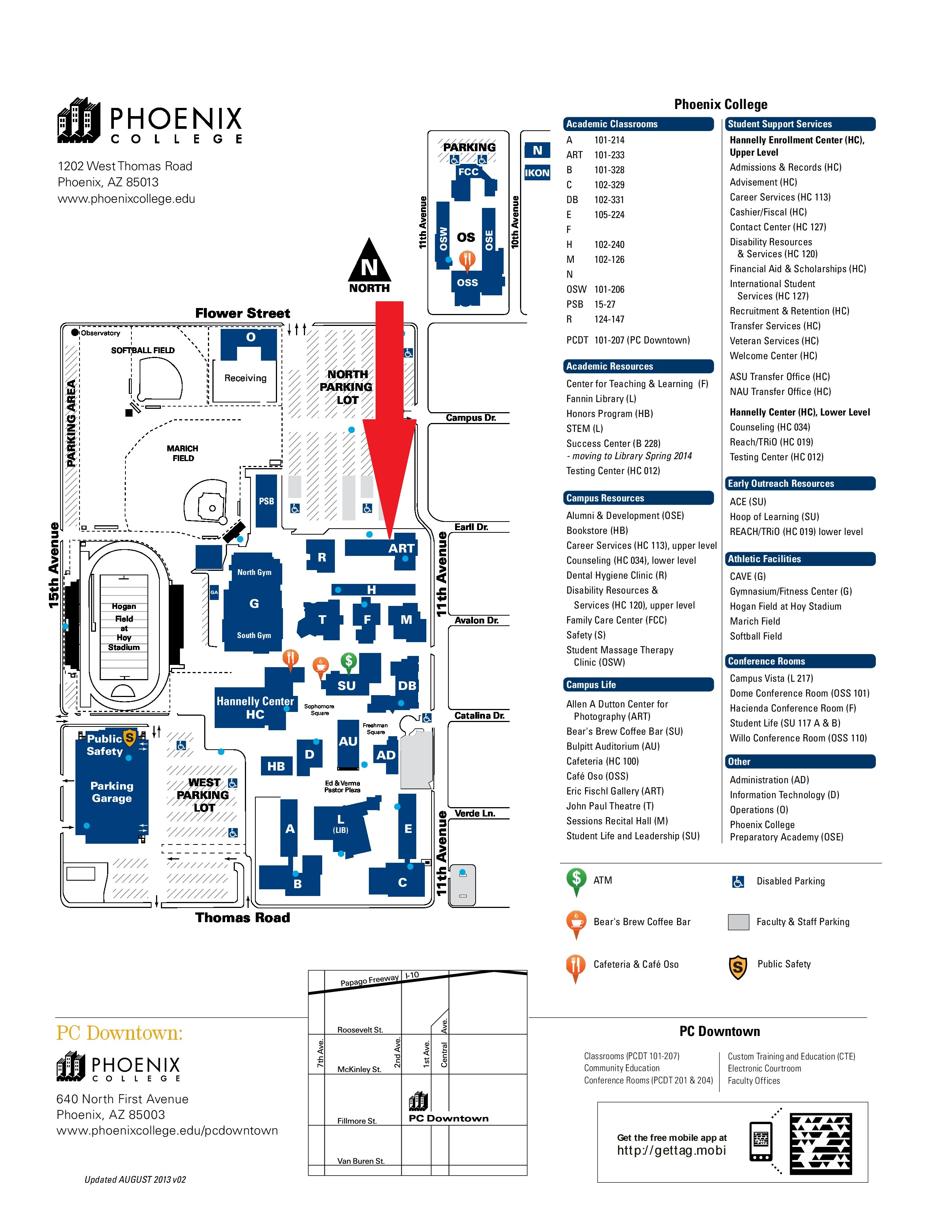 Phoenix College Map Dair Deckert Phoenix College map | AZ Attorney