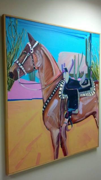 Bar art horse