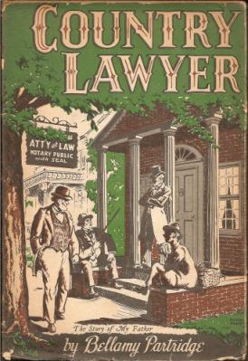 Book Country Lawyer by Bellamy Partridge