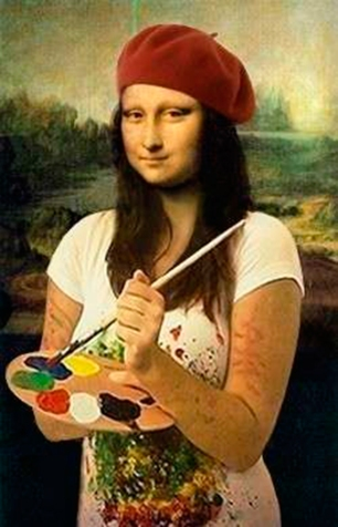 Mona-Lisa-Parody as artist