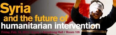 Syria humanitarian law ASU lecture