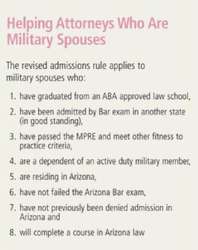 court rules aids military spouses bullet points