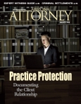 Arizona Attorney Magazine cover March 2014