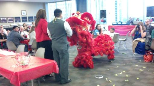 Yes, that is a dragon at a legal event. Why do you ask? APALSA banquet dragon 1 04-05-14