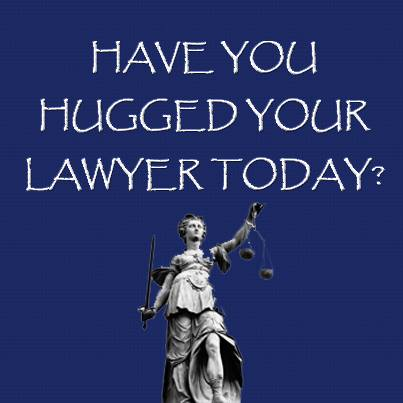Be Kind to Lawyers Day hug