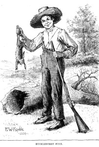 Huckleberry Finn had many skills, but determining causes of death was not one of them.