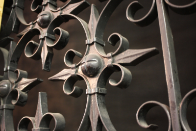 Ornament on historic Tucson, Ariz., courthouse