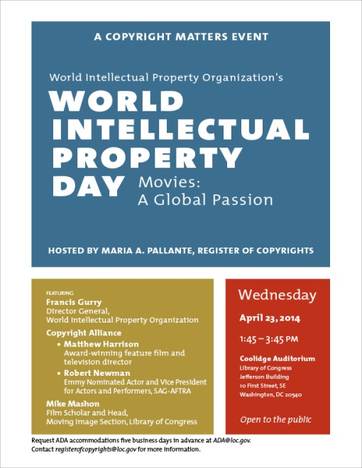 World Intellectual Property Day 2014
