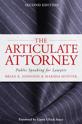 Brian Johnson Marsha Hunter Articulate Attorney