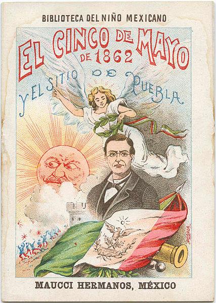 Cinco de Mayo history 1901 poster