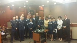 JAGC tour of superior and municipal courts, May 8, 2014.