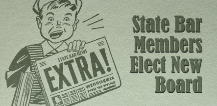 State Bar of AZ newsboy election results