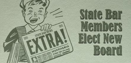 State Bar of AZ newsboy election results
