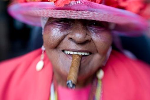 """""""A good cigar,"""" Ken Ross, 2007. (Through Each Others Eyes)"""