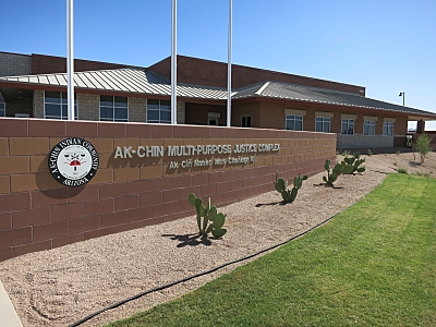 Ak Chin Justice Center, whose ribbon-cutting occurred June 6, 2014. Maricopa, Ariz.