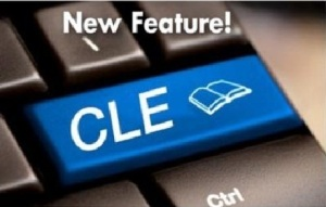 cle snippets teaser logo. This teaser signifies a new and innovative way to combine magazine content with online learning.