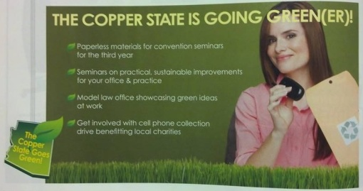 Green initiatives at SBA 2014 Convention