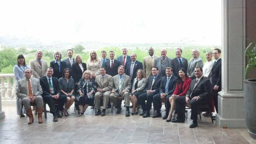 The new Board of the State Bar of Arizona, June 10, 2014, Westin La Paloma, Tucson