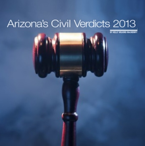 Arizona civil verdicts 2013 gavel