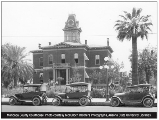 Maricopa County Courthouse 1800s