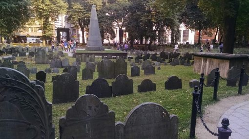 A historic Boston cemetery contains the seeds of much of our nation's legacy.
