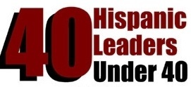 Hispanic 40 Under 40 logo 2