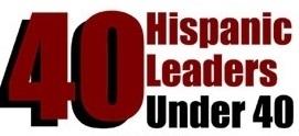 Hispanic 40 Under 40 logo 2