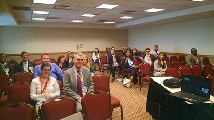 My second audience at the Phi Alpha Delta conference: Younger attorneys and law students: Hard questions about blogging.