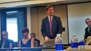 Phoenix Mayor Greg Stanton recalls Dick Segal, Sept. 10, 2014.