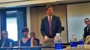 Phoenix Mayor Greg Stanton recalls Dick Segal, Sept. 10, 2014.