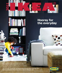 What, the IKEA catalog is a bookbook? What could be better?