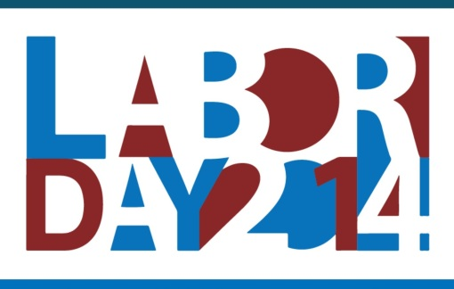Labor Day 2014, graphic by the U.S. Department of Labor