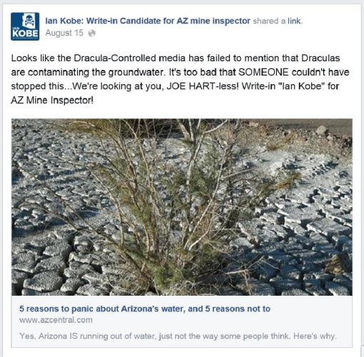 Ian Kobe State Mine Inspector 3 Facebook post