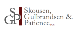 Skousen Gulbrandsen and Patience logo