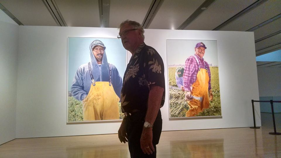Don Coen Migrant Series at @phxart compelling look at migrant farmers (3/4)