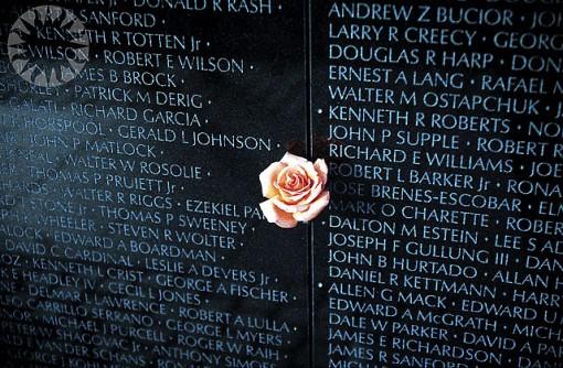 Vietnam Memorial DC Veterans Day